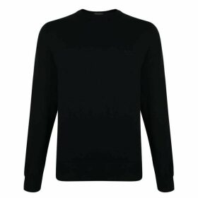 Boss Knitted Cotton Jumper