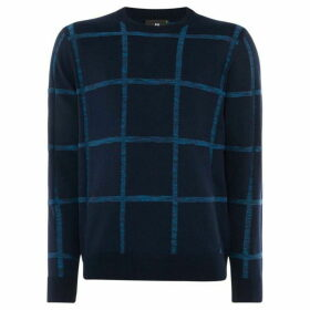 PS by Paul Smith Spacedye Check Jumper