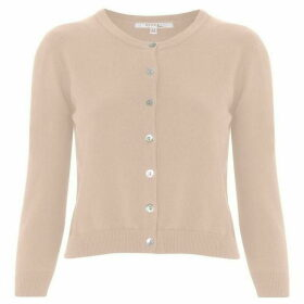 Nougat Tansy Cropped Cardigan