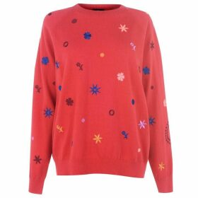 Paul Smith Embroidered Knit Jumper