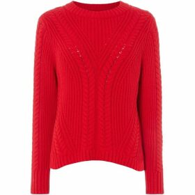 Jack Wills Elwick Travelling Cable Crew Jumper