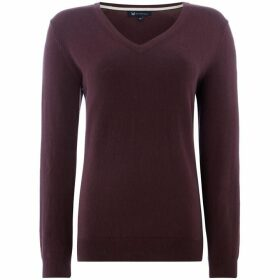 Crew Clothing Company Foxy V Neck Jumper