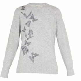 Ted Baker WOVEN FRONT BUTTERFLY JUMPER