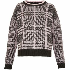 Whistles Check Mohair Jumper