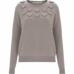 Nougat Silene Embroidered Jumper