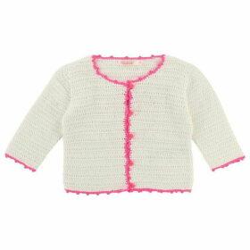 Billieblush Baby Girl Crocheted Cardigan