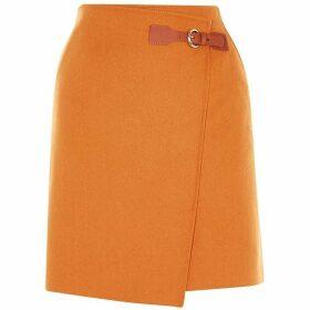 Karen Millen Wrap Mini Skirt