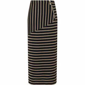 James Lakeland Stripe Long Length Skirt