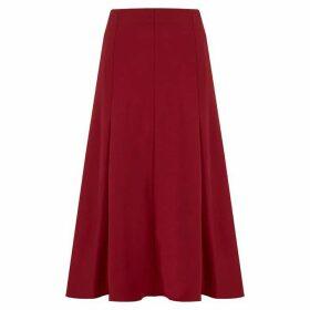 Havren Betty Flared Panelled Skirt