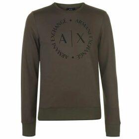 Armani Exchange Armani Logo Crew Sweater