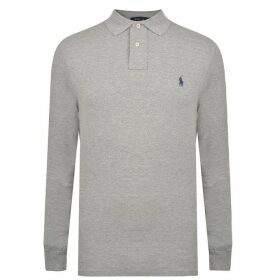 Polo Ralph Lauren Custom Fit Long Sleeved Polo Shirt