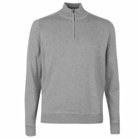 Howick Organic Cotton Funnel Neck Sweater Mens