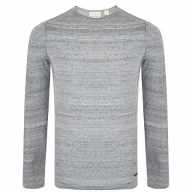 DKNY Speckle Seam Knitted Top