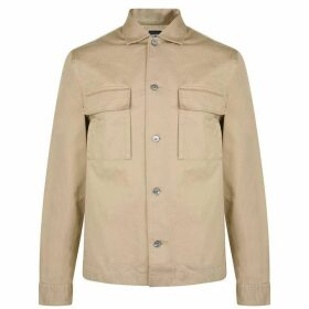 Boss Cotton Twill Overshirt