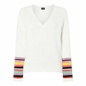 Paul Smith PS Stripe Cuff Knit Ld92