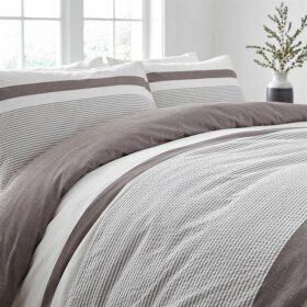 Linea Oswell Stripe Duvet Set