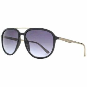 French Connection FC Mens Plastic D-Frame With Metal Top Bar Sungla