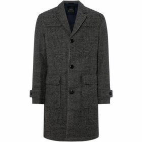 Armani Exchange Padded Wool Overcoat