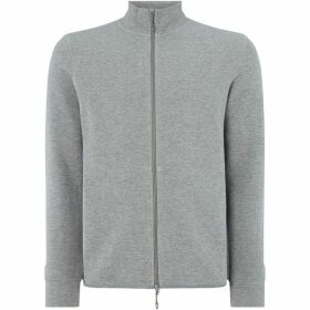 Armani Exchange Zip thru Back Logo Sweat Top