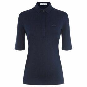 Lacoste Women`S Lacoste Slim Fit Stretch Mini Piqué Polo