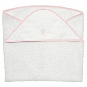 First Pretty In Pink Hooded Towel