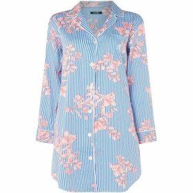 Lauren by Ralph Lauren Notch collar sleepshirt