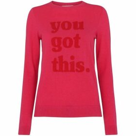 Whistles You Got This Logo Knit
