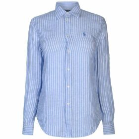 Polo Ralph Lauren Stripe Relaxed Long Sleeve Shirt