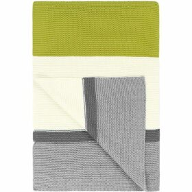 Designers Guild Bellariva dove cotton blanket 140x200cm