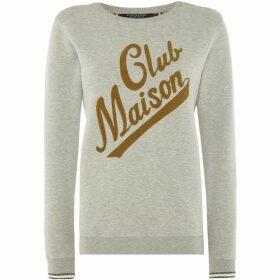 Maison Scotch Club maison sweathshirt
