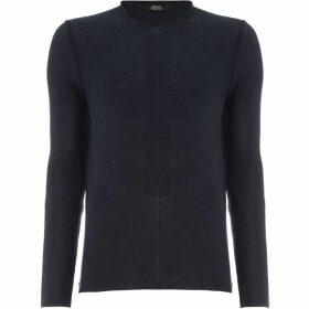 Replay Stripe Knit Cotton Sweater