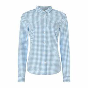 Jack Wills Prewitt Shirt - Blu Gingham