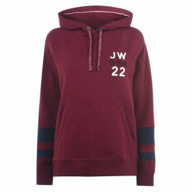 Jack Wills Hazelmere Classic Back Graphic Hoodie - Damson