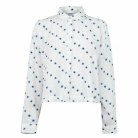 Jack Wills St Bedes Printed Boxy Shirt - White
