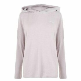Calvin Klein Long Sleeve Hecci Hoodie - GRAY LAV HECCI