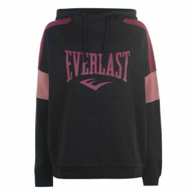 Everlast Long Line OTH Hoodie Ladies - Black/Pink