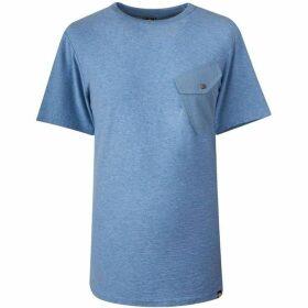 Pretty Green Slub Marl Twill Pocket T-Shirt