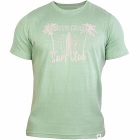 Double Two Short Sleeve South Coast Print T-Shirt