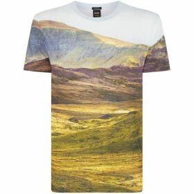 Boss All Over Landscape T-Shirt