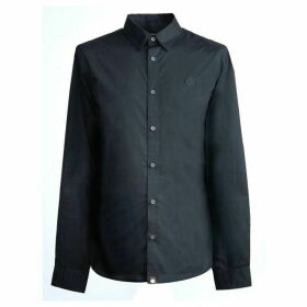 Pretty Green Stretch Fit Shirt - Black