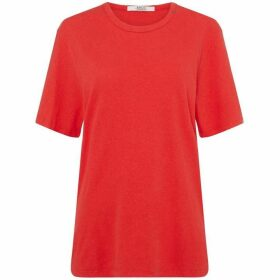 Replay Cotton Linen T-Shirt
