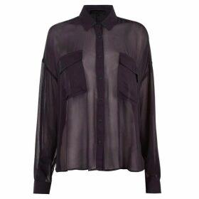 Kendall and Kylie Viscose Shirt - Nine Iron