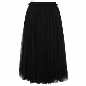 Dolce and Gabbana Tulle Midi Skirt