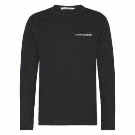 Calvin Klein Jeans Institutional Back Logo T Shirt - CK Black