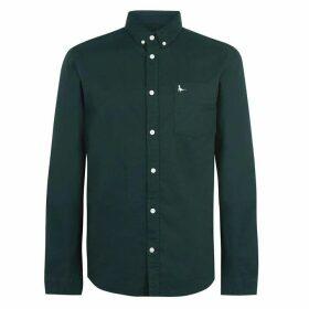 Jack Wills Wadsworth Classic Oxford Shirt - Dark Green