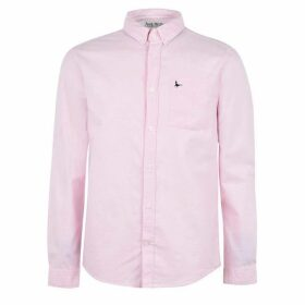 Jack Wills Wadsworth Classic Oxford Shirt - Pink