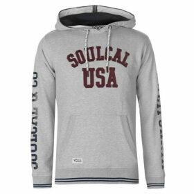 SoulCal USA OTH Hoodie Mens - Grey Marl