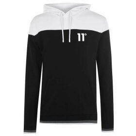 11 Degrees Cut and Sew OTH Hoodie - Black/White