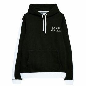 Jack Wills Dornoch Popover Hoodie - Black