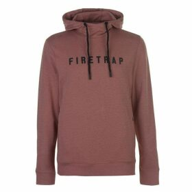 Firetrap Light Knit OTH Hoody Mens - Dusky Pink